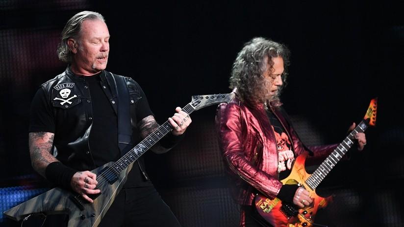 VIDEO: Metallica interpreta una mítica canción rusa en su concierto en Moscú