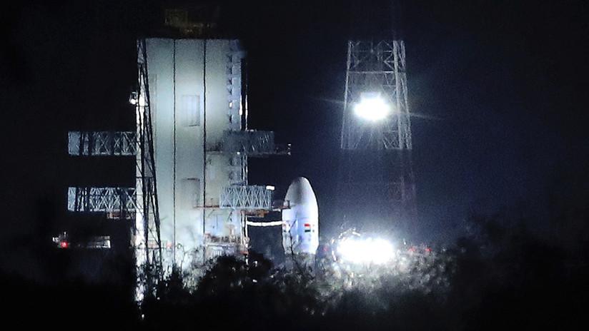 India lanzó con con éxito su segunda misión lunar