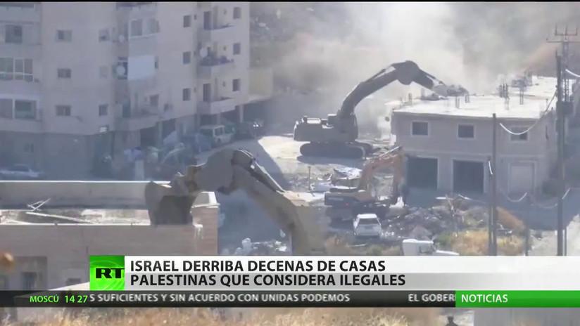 Israel demuele en Jerusalén Este decenas de casas palestinas que considera ilegales