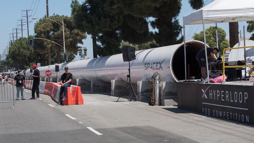 Una cápsula alemana para el tren futurista Hyperloop establece un nuevo récord de velocidad de 463 km/h