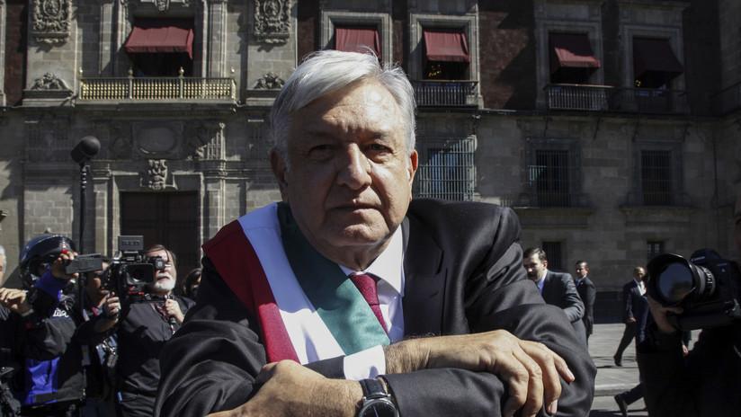 López Obrador y su familia pasan su primera noche en el Palacio Nacional de México