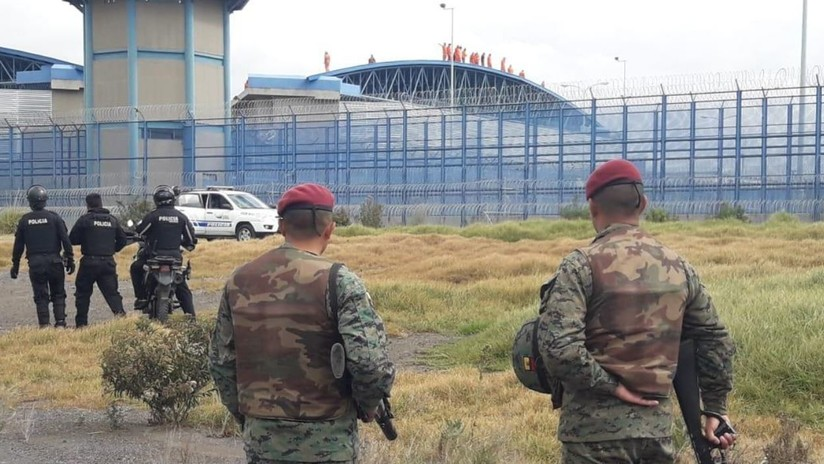 VIDEO: Presos se amotinan en una cárcel de Ecuador