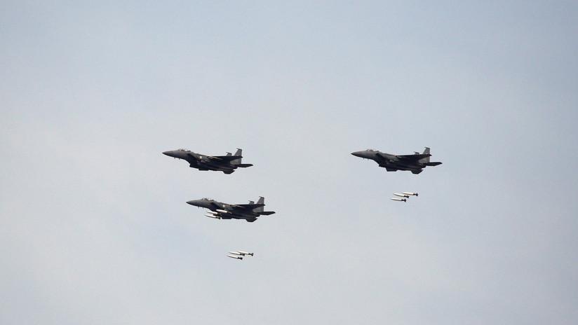 Cazas surcoreanos realizan disparos de advertencia contra un avión ruso