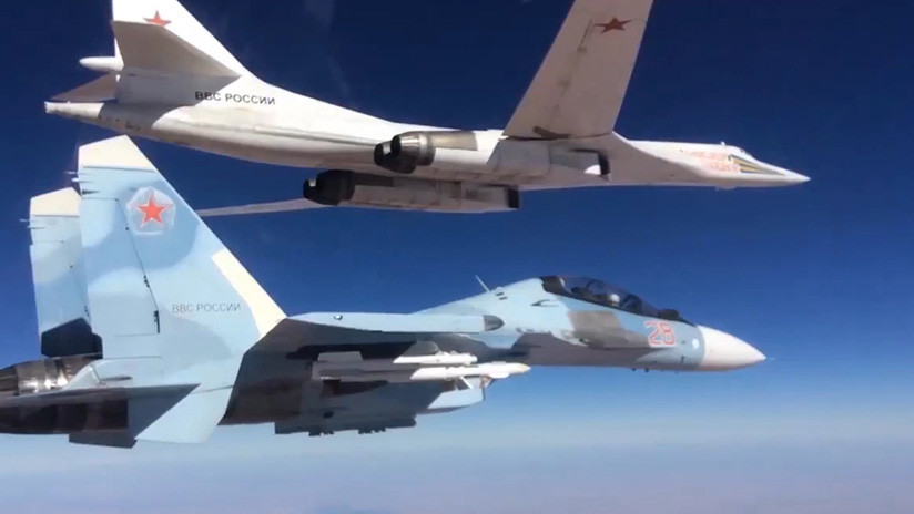 Moscú: Las primeras patrullas de aviones rusos y chinos en la región Asia-Pacífico no van dirigidas contra nadie