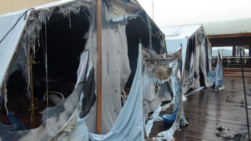 Rusia: Muere un menor que rescataba niños durante el incendio de tiendas de campaña en un campamento