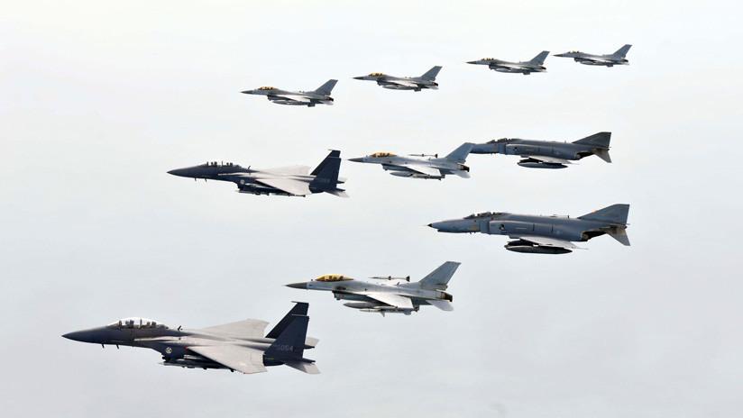 """El Ministerio de Defensa ruso tacha de """"gamberrismo aéreo"""" la actitud de los pilotos surcoreanos"""