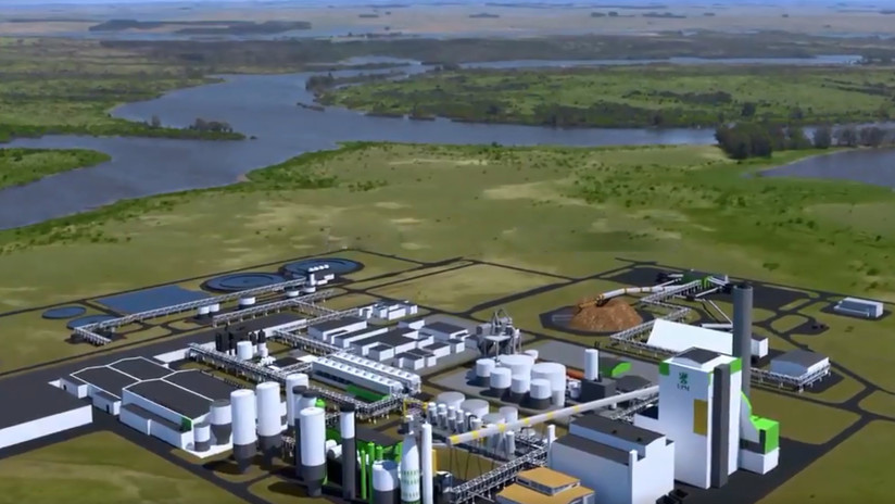 Gobierno y ambientalistas enfrentados por una segunda planta de celulosa de la finlandesa UPM en Uruguay