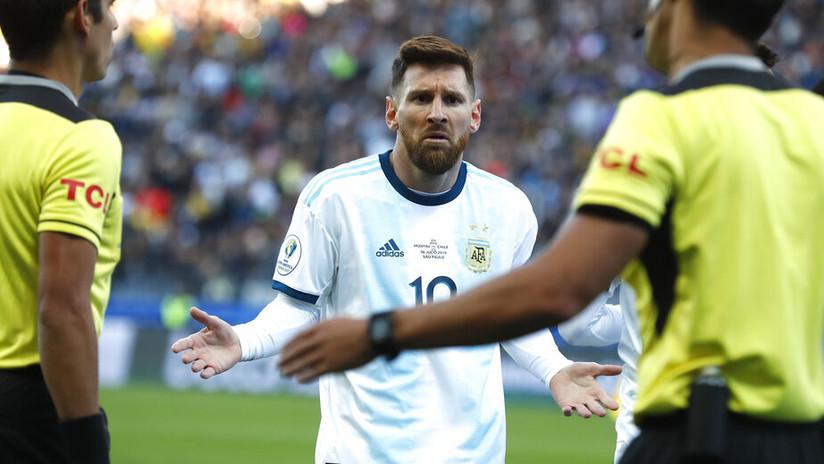 Se conoció cuál será la sanción para Messi tras la Copa América
