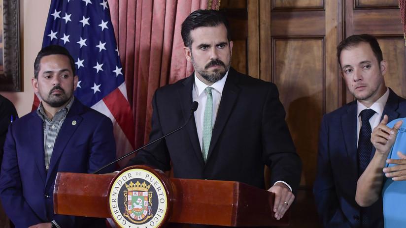 Ricardo Rosselló dimite como gobernador de Puerto Rico en medio de protestas