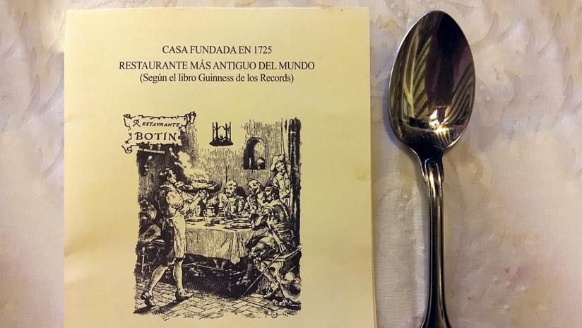 El restaurante más antiguo del mundo tiene casi 300 años y está en Madrid