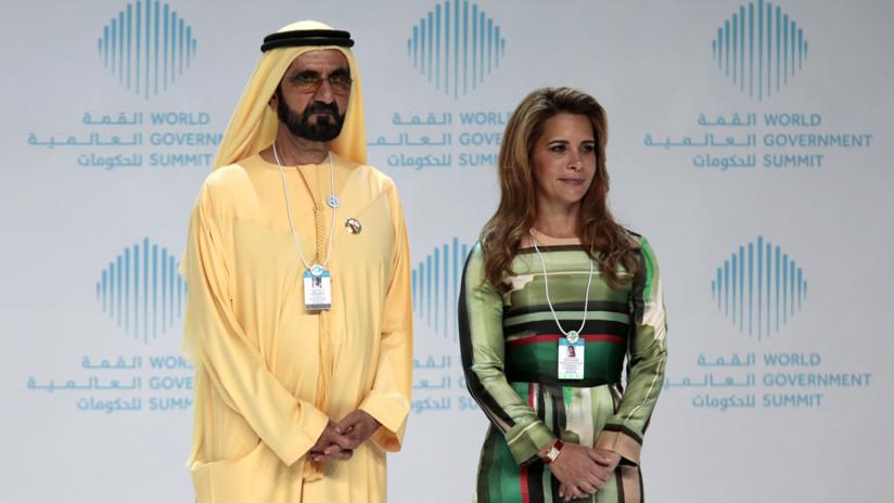 El mandatario de Dubái y su esposa, que huyó a Europa con sus hijos, emiten un raro comunicado conjunto
