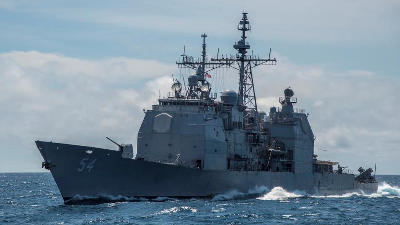 EE.UU. envía un buque de guerra al estrecho de Taiwán a pesar de las advertencias de China de que se aleje de la isla