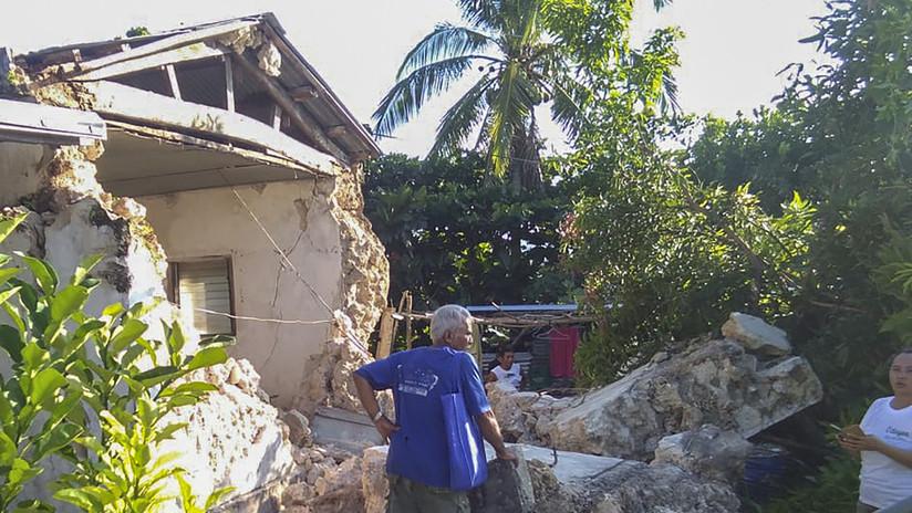 Al menos ocho muertos tras varios terremotos en Filipinas