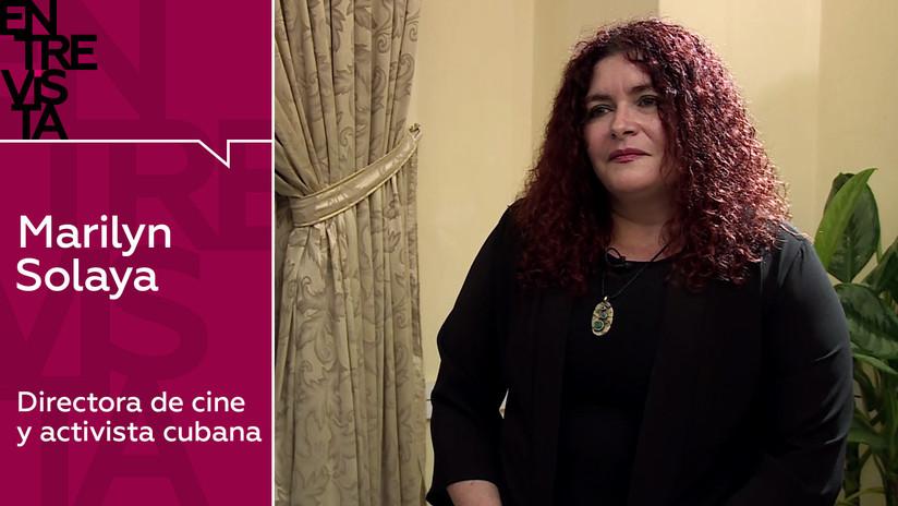 """Marilyn Solaya, directora de cine y activista cubana: """"Más allá de las alfombras rojas, el cine es una herramienta para expresarte"""""""
