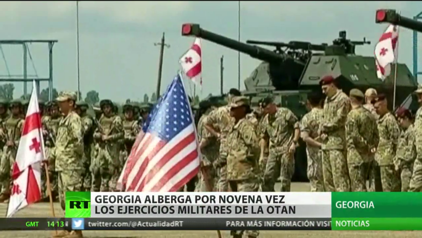 Georgia alberga por novena vez ejercicios militares de la OTAN