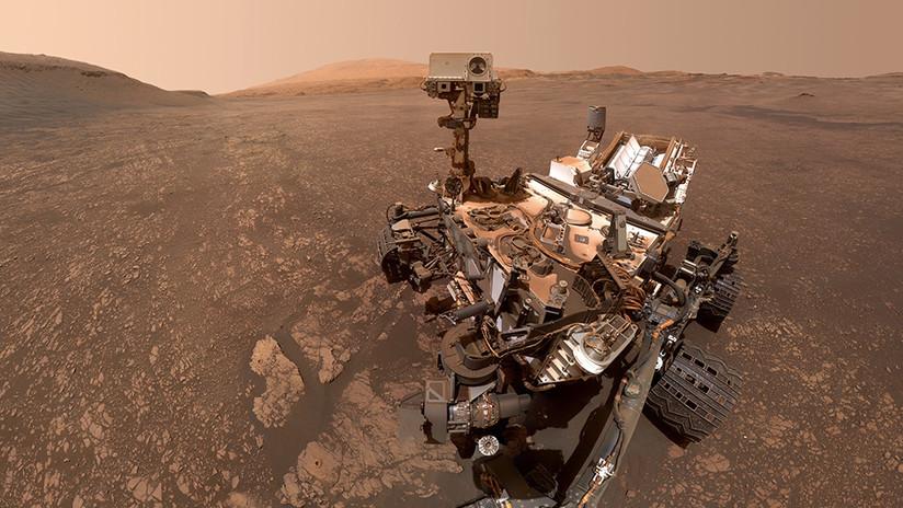 Curiosity envía imágenes que aumentan las expectativas de encontrar evidencia de vida en Marte