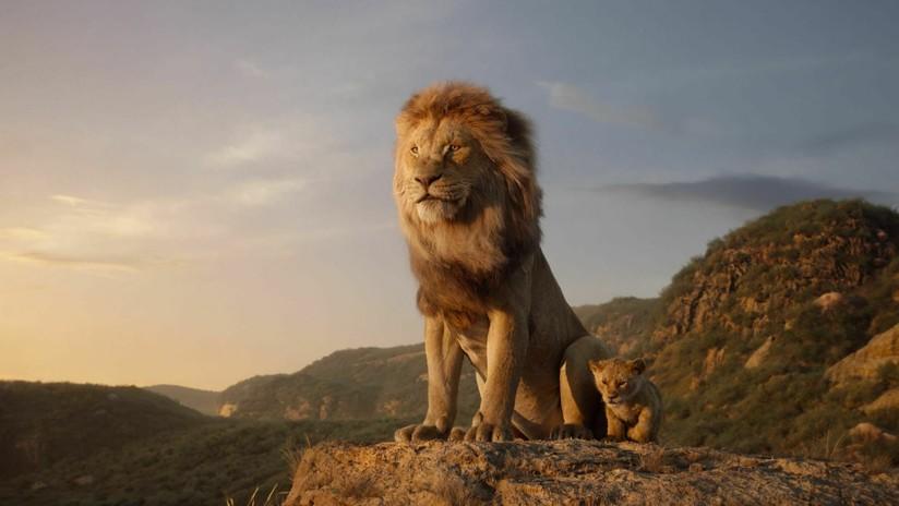 FOTO: El director de 'El Rey león' revela donde se oculta el único plano real de la película