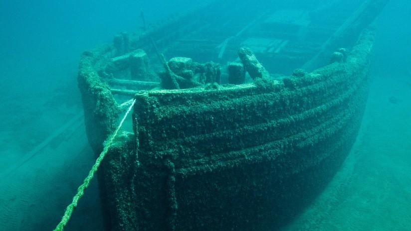 Plasman en 3D un naufragio desconocido frente a la costa de EE.UU.