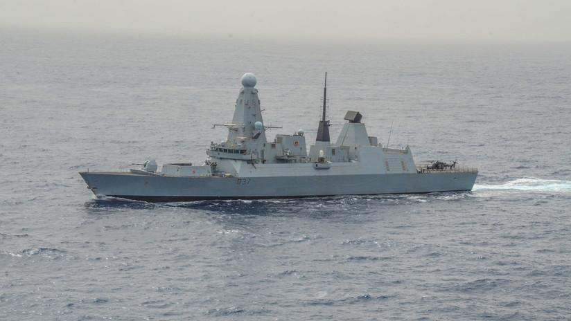 Un segundo buque de guerra británico llega al golfo Pérsico en medio de las turbulencias con Irán