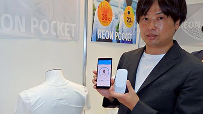 VIDEO: La camiseta con aire acondicionado de Sony que promete mantenerlo fresco durante las olas de calor