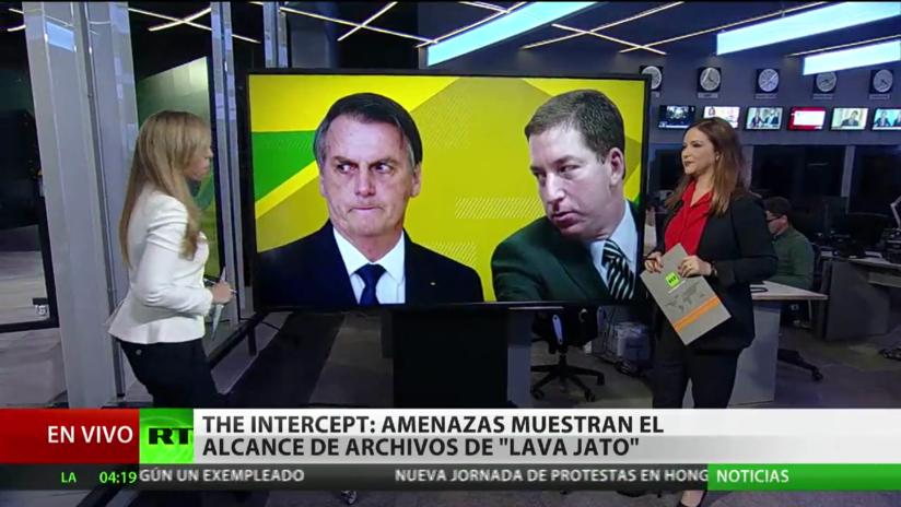 The Intercept: Las amenazas del Gobierno de Bolsonaro muestran el alcance de los archivos de 'Lava Jato'