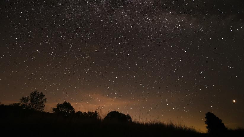 No se pierdan la doble lluvia de meteoros que será visible esta noche