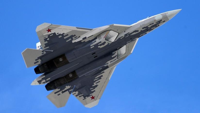 Rusia empieza a producir en serie su primer caza de quinta generación Su-57