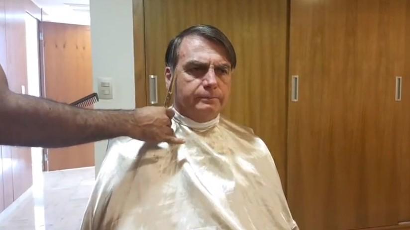 Bolsonaro cancela a última hora un encuentro con el ministro de Exteriores de Francia y va a cortarse el cabello