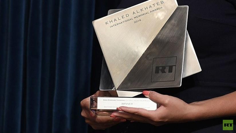 Periodistas de Rusia, EE.UU., Italia e India ganan el premio internacional de RT para corresponsales de guerra