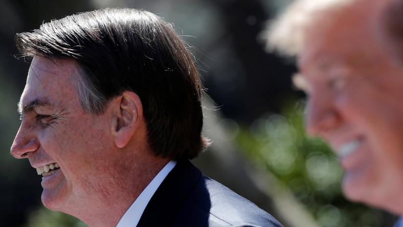 """""""No creo que sea nepotismo"""": Trump apoya el nombramiento del hijo de Bolsonaro como embajador de Brasil en EE.UU."""