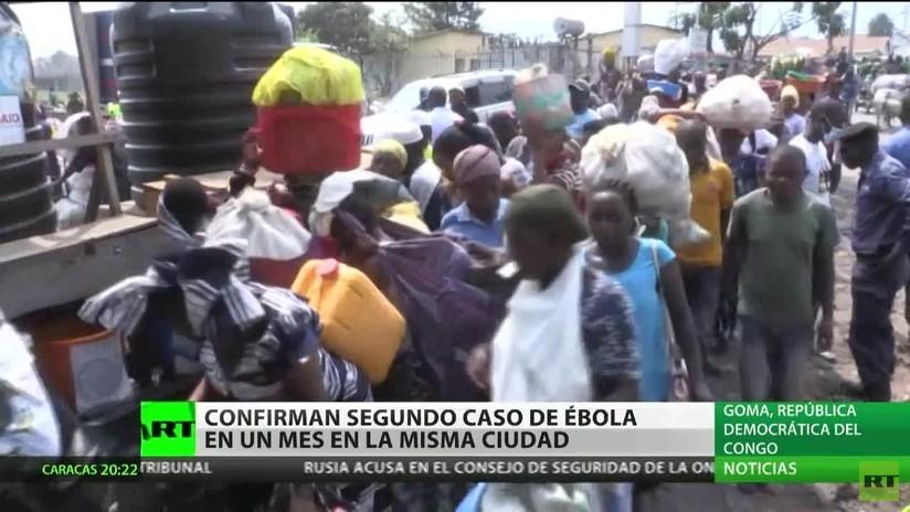 Confirman un segundo caso de ébola en un mes en la misma ciudad de la República Democrática del Congo