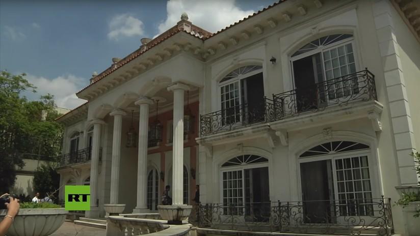 VIDEO: La opulenta mansión del presunto narco Zhenli Ye Gon que será subastada para retribuir al pueblo mexicano