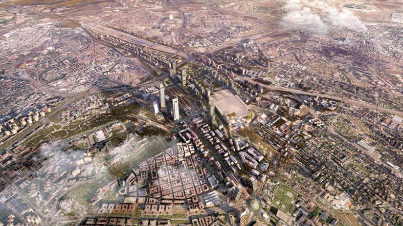 Denuncian en España a los responsables de la mayor operación urbanística de Europa