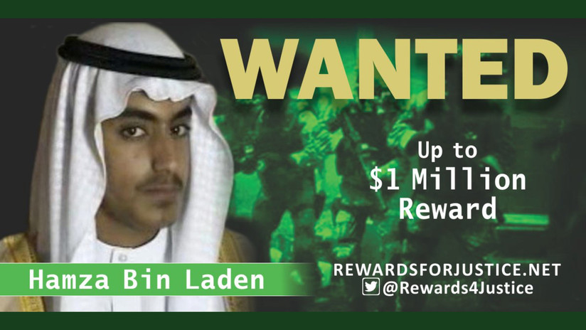 Reportan la muerte de Hamza bin Laden, posible sucesor de Osama