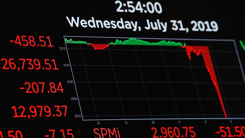 Los índices de Wall Street caen tras el anuncio de la Fed sobre la bajada de las tasas de interés