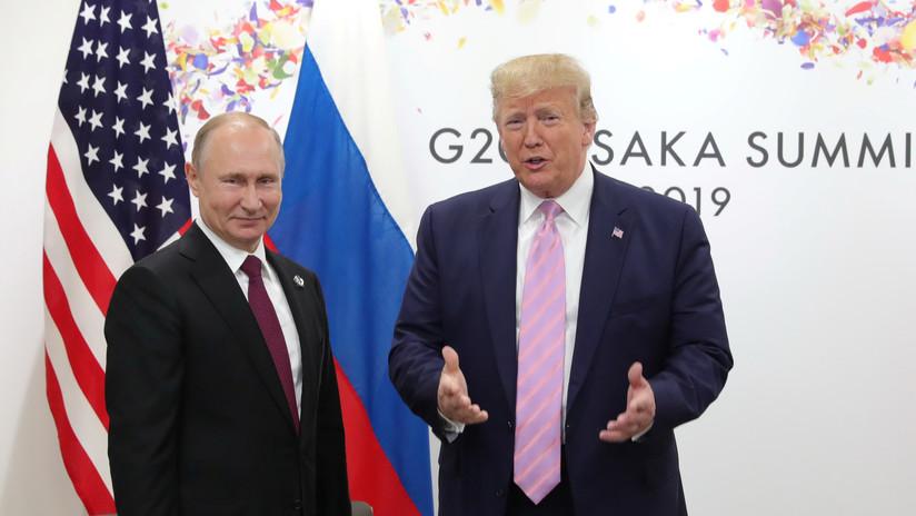 Trump ofrece a Putin ayuda para combatir los incendios en Siberia en una conversación telefónica