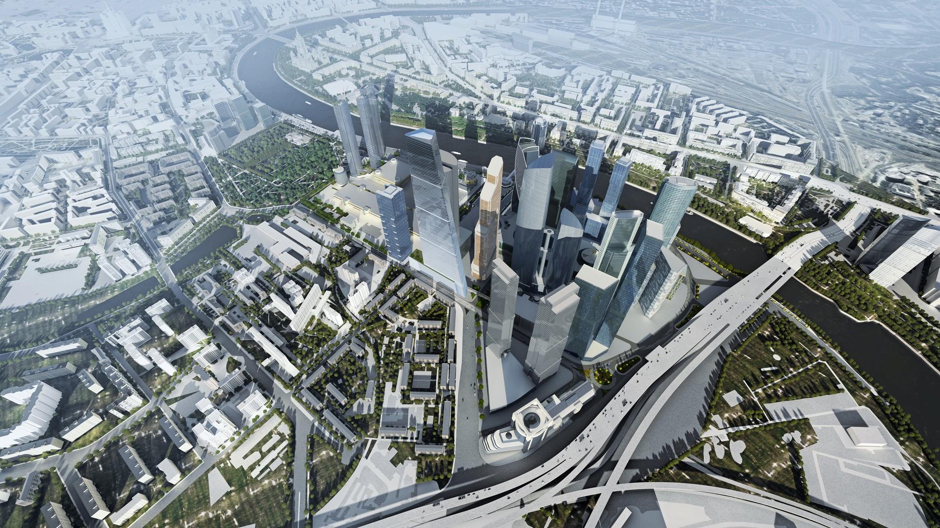 Construyen en Moscú el edificio más alto de Europa