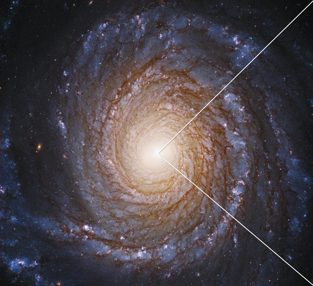 NASA detectó disco que