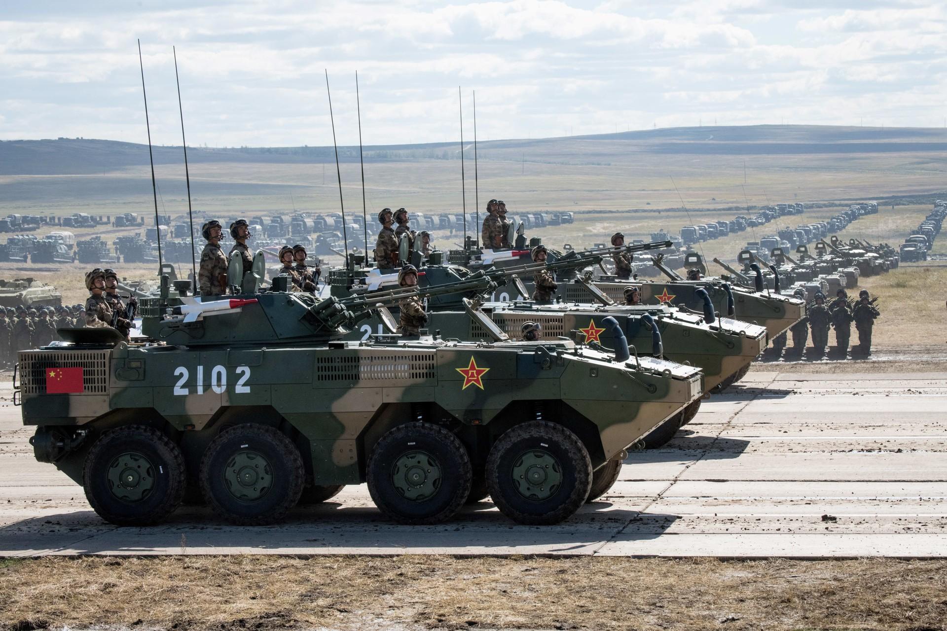 Las fuerzas armadas chinas enseñan sus 'cartas ganadoras'