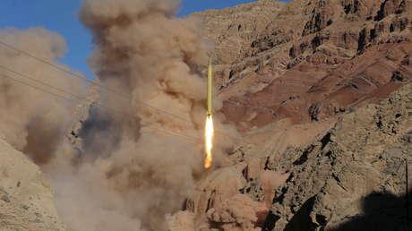 Un misil balístico iraní