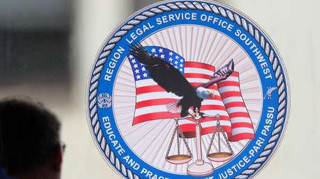 Corte de la base naval de San Diego, California, EE.UU.