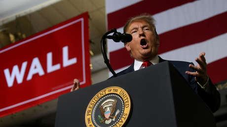 El presidente de EE.UU., Donald Trump, en El Paso (Texas), el 11 de febrero de 2019
