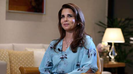 La princesa Haya Al Hussein