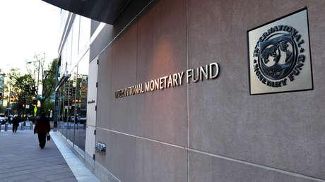 Edificio del Fondo Monetario Internacional (FMI), en Washington (EE.UU.), el 5 de abril del 2016.