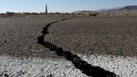 Consecuencias del terremoto del 4 de julio de 2019 cerca de la ciudad de Ridgecrest, en el estado de California, EE.UU.