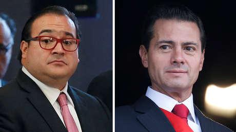 El exgobernador de Veracruz, Javier Duarte, y el expresidente de México Enrique Peña Nieto.