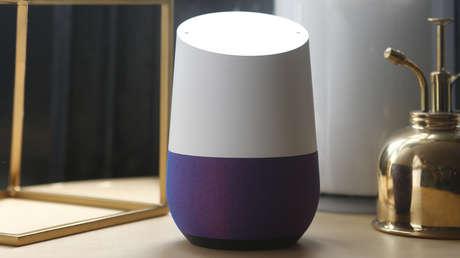 Altavoces inteligentes Google Home.