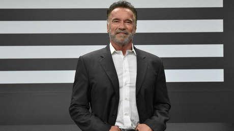 Arnold Schwarzenegger en Brasil el 14 de abril de 2019.