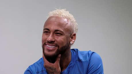 El futbolista Neymar Jr. Sao Paulo, Brasil, 13 de julio de 2019.