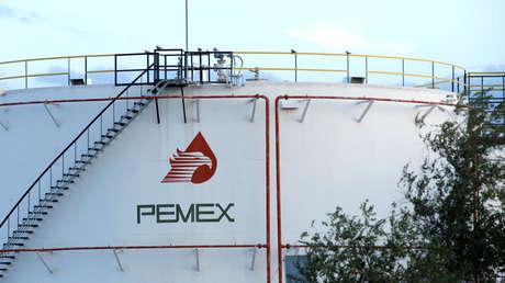 Tanque de combustible de Pemex en Ciudad Juárez, México, 4 de octubre de 2017.